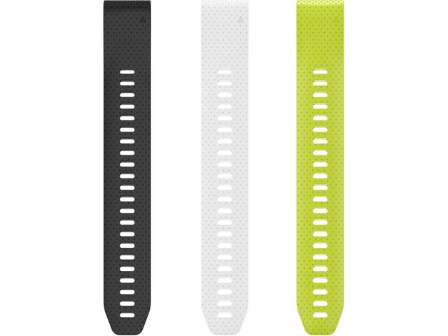 Garmin Fenix 5 Extender Polsband, black/white/yellow